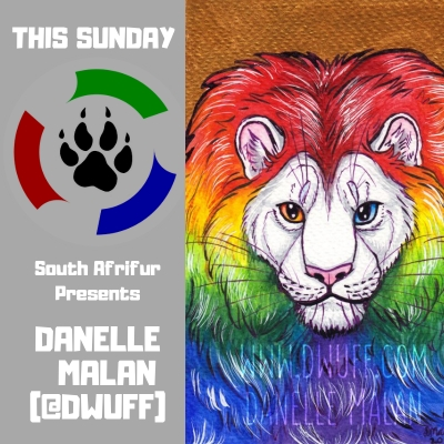 This Sunday: Danelle Malan (@Dwuff)