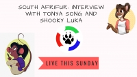 This Sunday (05/05/2019) South Afrifur Presents: Tonya Song and Shooky Luka
