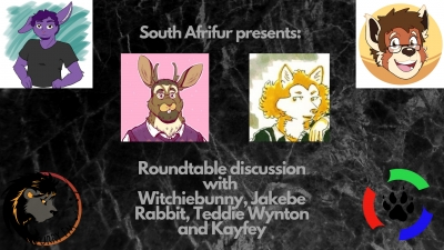 This Sunday (07/06/2020) South Afrifur Presents: Furry Round-table