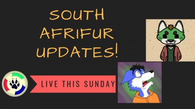 This Sunday (17/03/2019): South Afrifur Update!