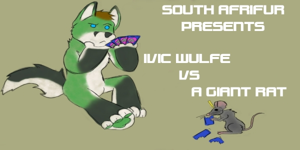 Ivic Wulfe vs a Giant Rat - This Sunday